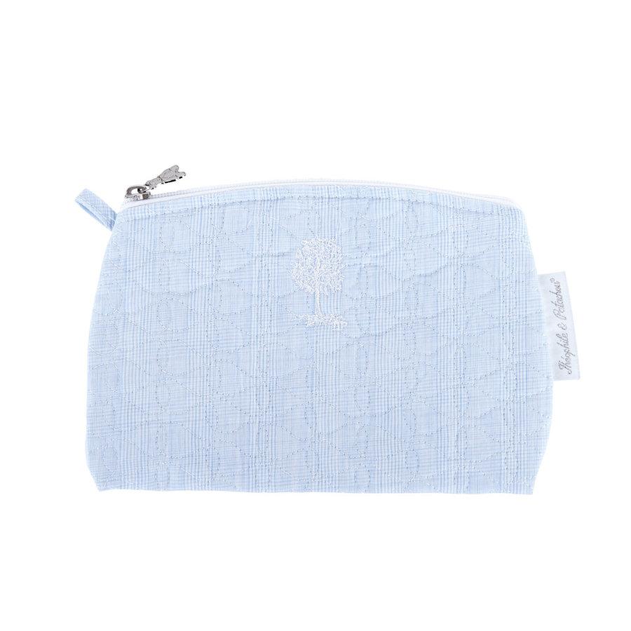 Sweet Blue Platte tas - Gewatteerd-1
