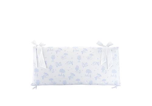 Théophile & Patachou Sweet Blue Bedbeschermer 70cm - Bedrukt (70x70x70cm) H:32cm