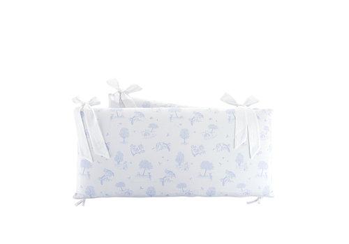 Théophile & Patachou Sweet Blue Bedbeschermer 60cm - Bedrukt (60x60x60cm) H:32cm