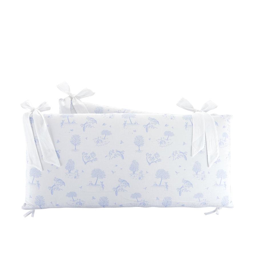 Sweet Blue Bedbeschermer 60cm - Bedrukt (60x60x60cm) H:32cm-1