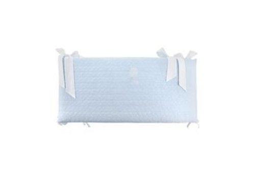 Théophile & Patachou Sweet Blue Bedbeschermer 70cm - Geborduurde (70x70x70cm) H:32cm
