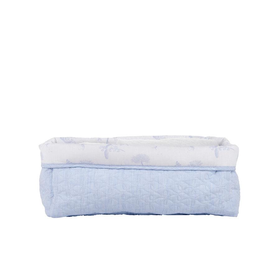 Sweet Blue Verzorgingsmand vierkant - Gewatteerd-2
