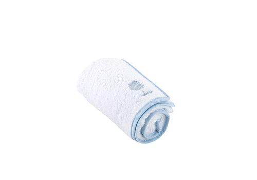Théophile & Patachou Sweet Blue Handdoek voor verzorgingskussen - Badstof