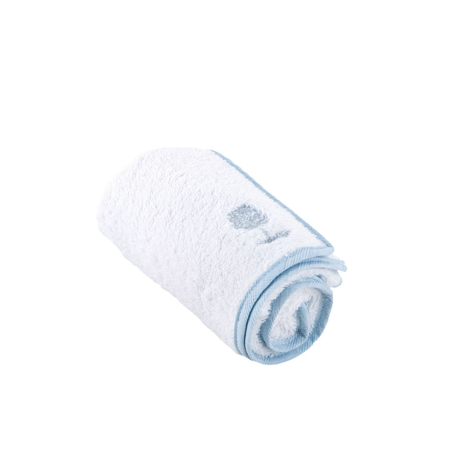 Sweet Blue Handdoek voor verzorgingskussen - Badstof-1