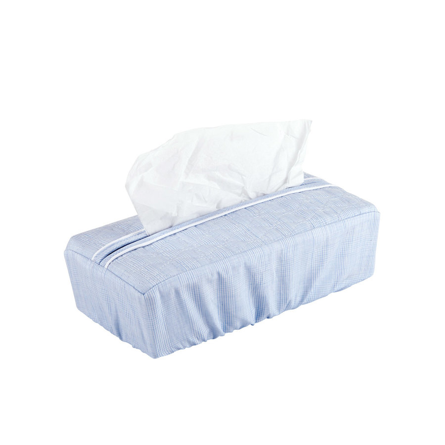 Sweet Blue Hoes voor kleenex-doos - Gewatteerd-1