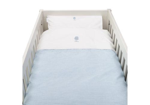 Théophile & Patachou Sweet Blue Donsovertrek bed 100x135cm  + sloop