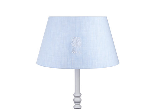 Théophile & Patachou Sweet Blue Grote lampenkap geborduurd