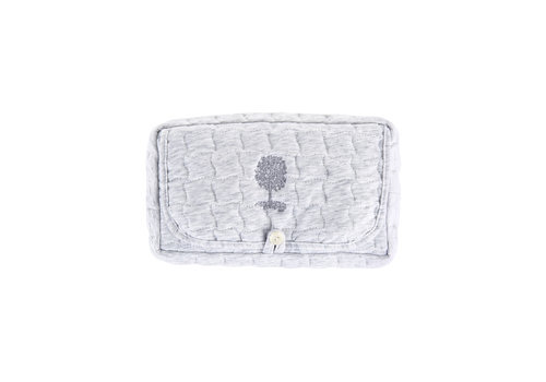 Théophile & Patachou Soft Grey Reishoes vochtige doekjes - Gewatteerd