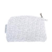 thumb-Soft Grey Platte tas - Gewatteerd-2