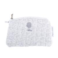 thumb-Soft Grey Platte tas - Gewatteerd-1