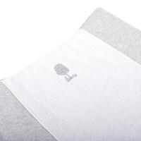 thumb-Soft Grey Hoes verzorgingskussen - Badstof + katoen-2