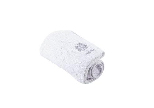 Théophile & Patachou Soft Grey Handdoek voor verzorgingskussen - Badstof