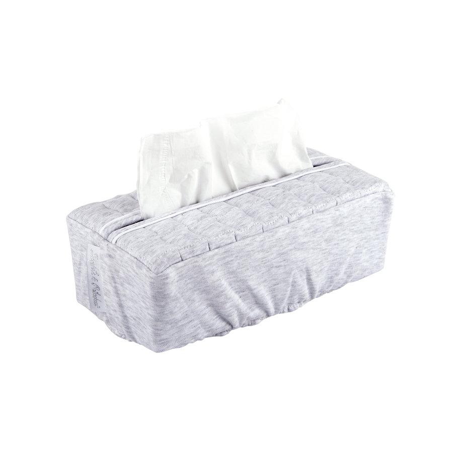 Soft Grey Hoes voor kleenex-doos - Gewatteerd-1