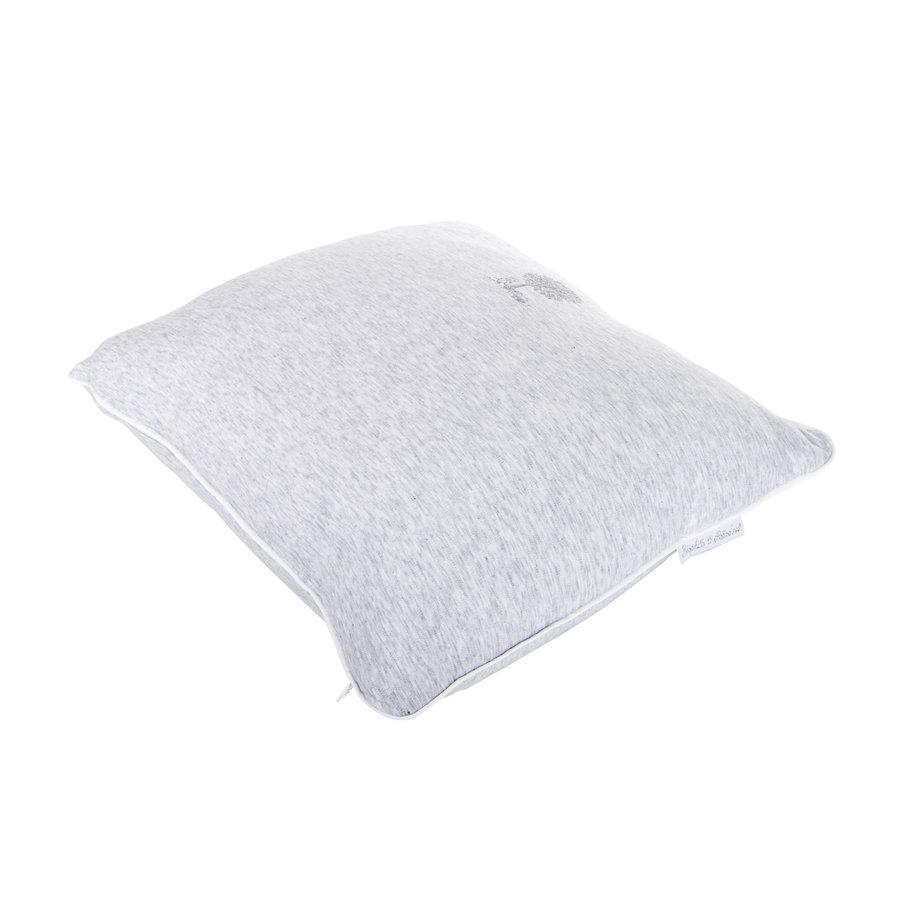 Soft Grey Kussen geborduurd - Jersey-3