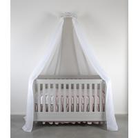 Soft Grey Set 2 hemels linten voor bed 240x150 - linnen