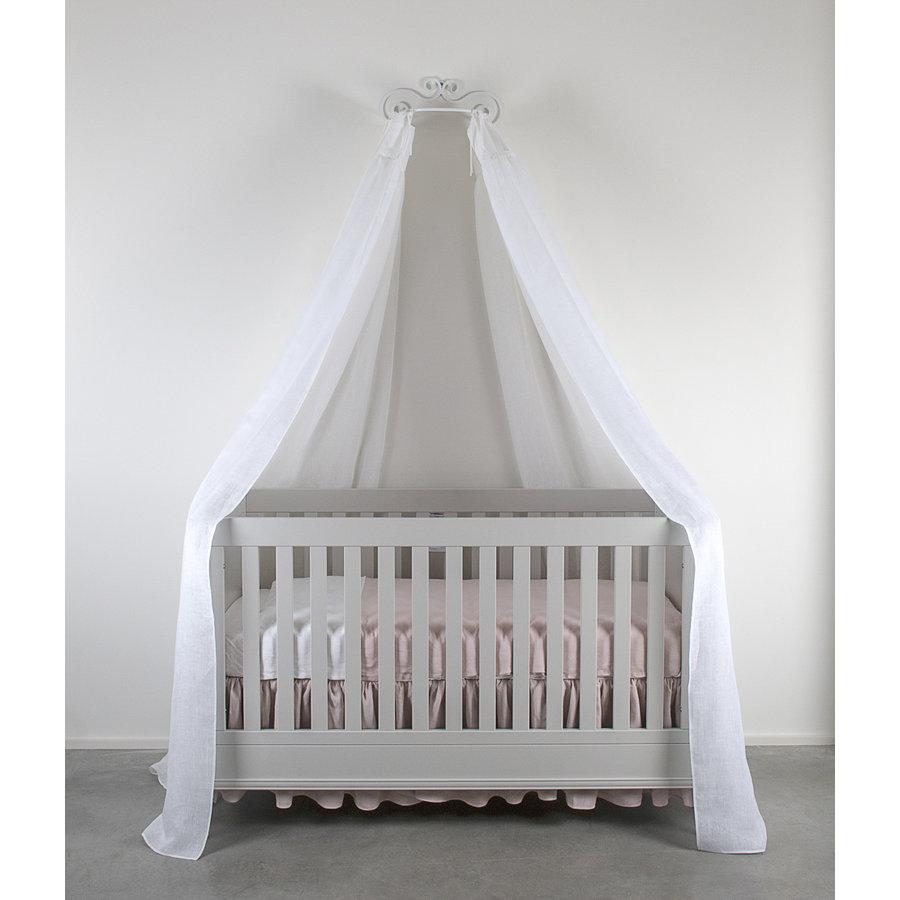 Soft Grey Set 2 hemels linten voor bed 240x150 - linnen-1