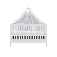 Soft Grey Set 2 hemels schuif voor bed 185x150 - linnen