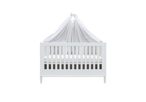 Théophile & Patachou Soft Grey Set 2 hemels schuif voor bed 185x150 - linnen