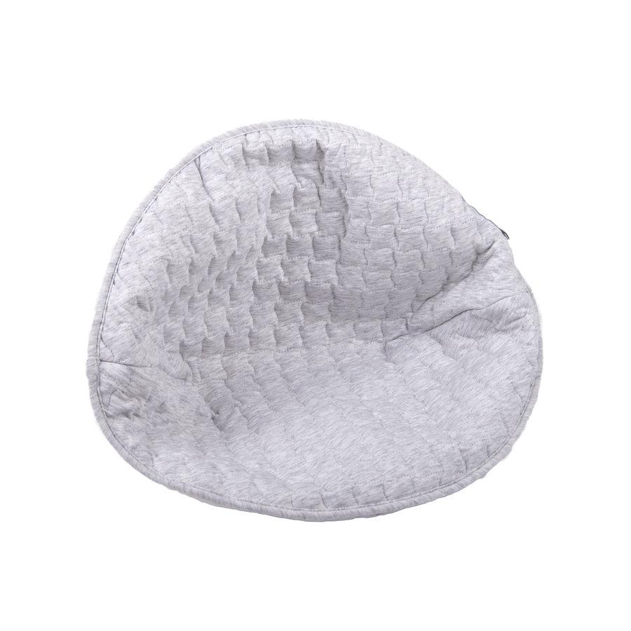 Soft Grey Kussen voor rieten kinderzetel - gewatteerd-2