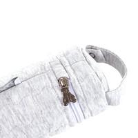 thumb-Soft Grey Hoes zuigfles - Gewatteerd-3
