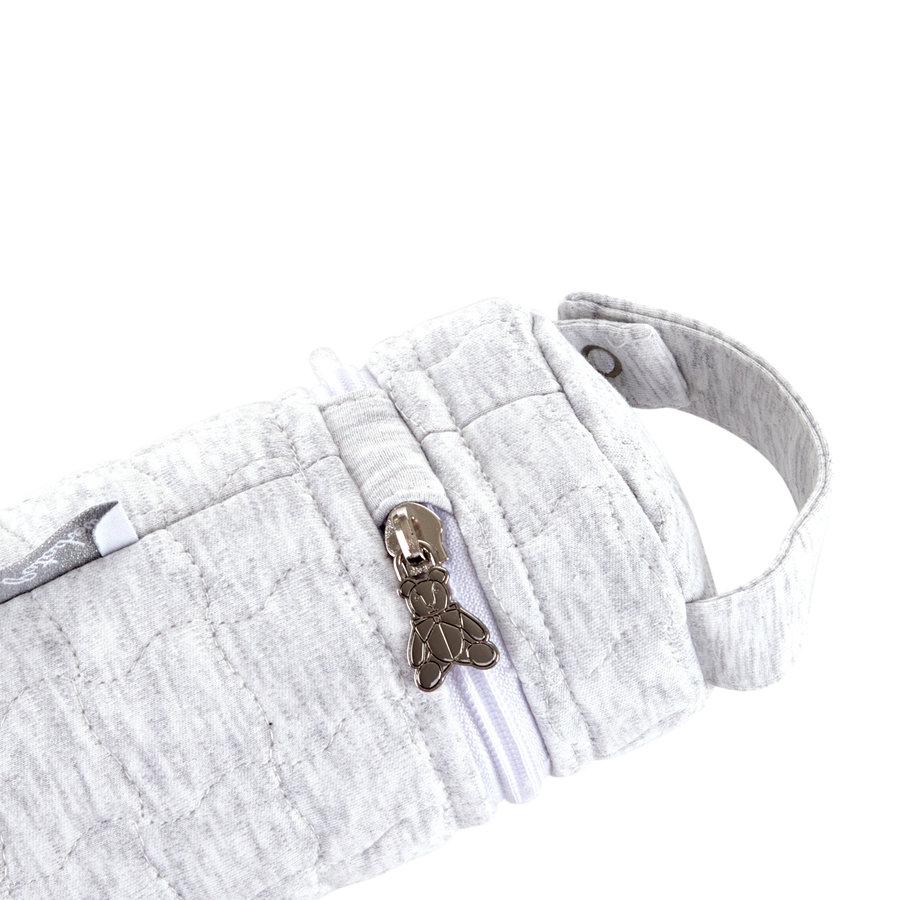 Soft Grey Hoes zuigfles - Gewatteerd-3