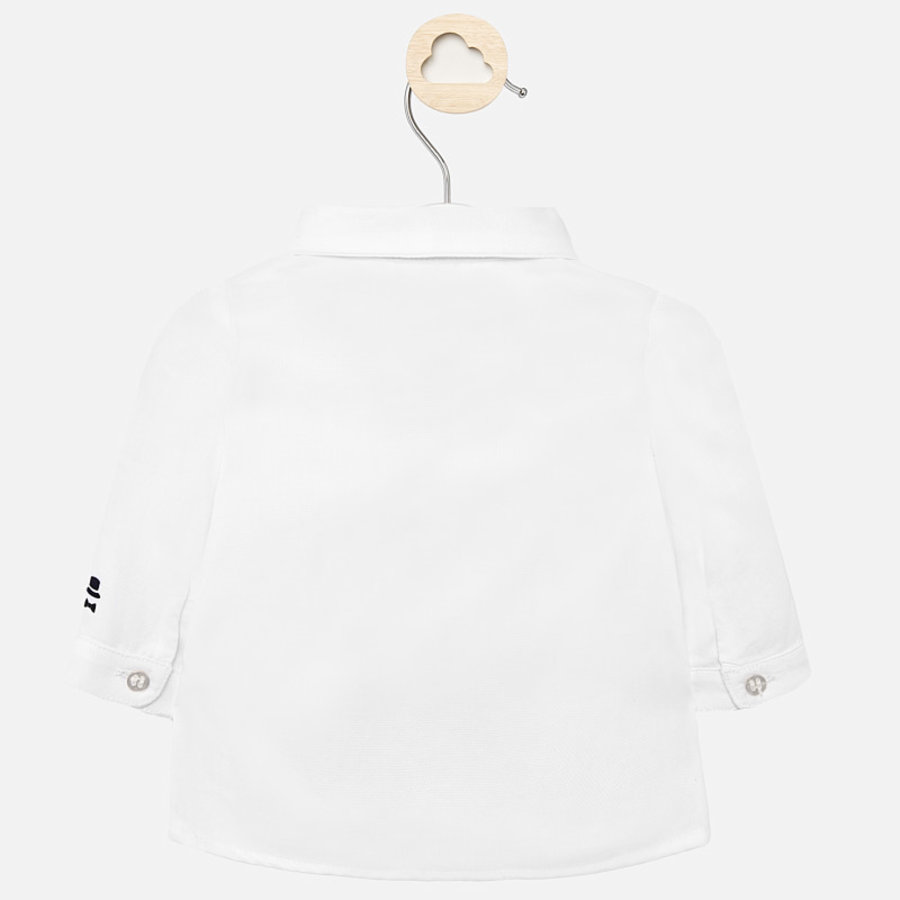 overhemd met vlinderdas - wit-2