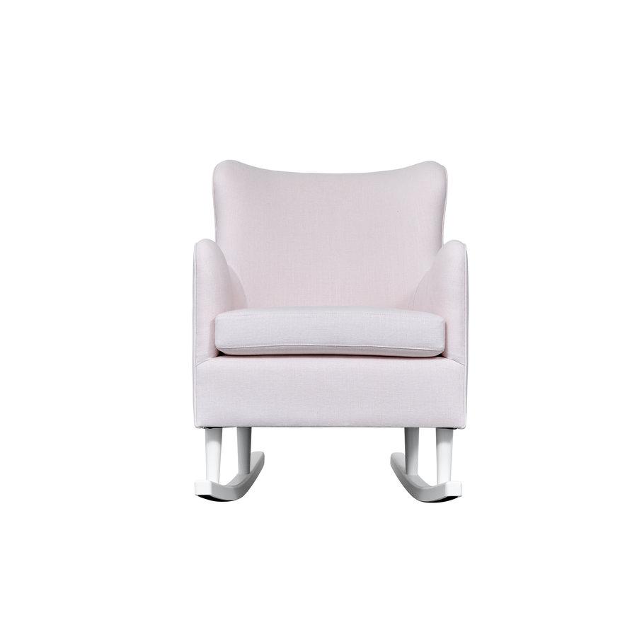 Rocking Chair Linnen - Roze-3
