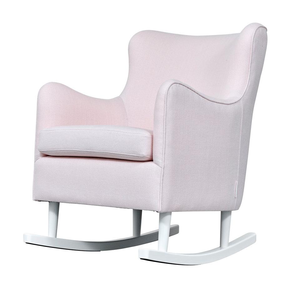 Rocking Chair Linnen - Roze-2
