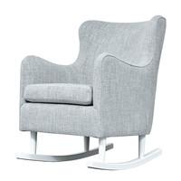 thumb-Rocking Chair Linnen - Grijs-2