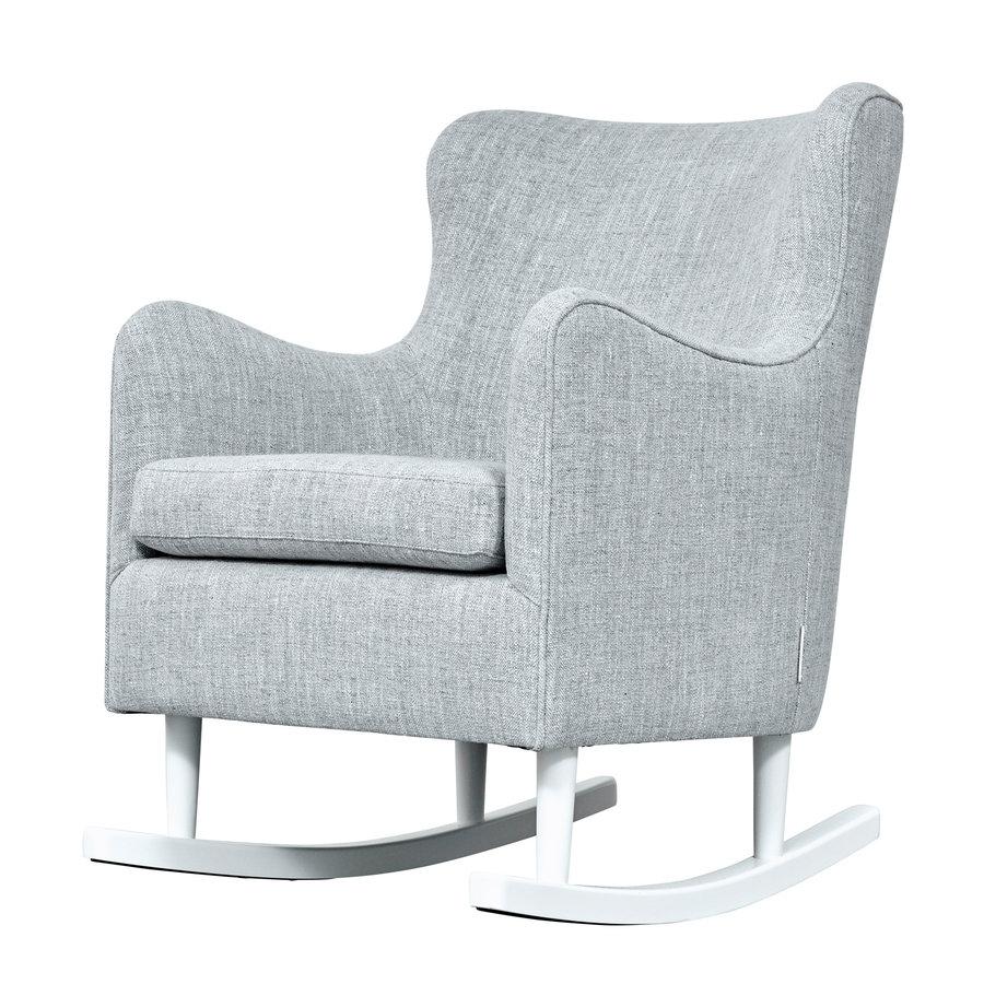 Rocking Chair Linnen - Grijs-2