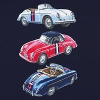 thumb-t-shirt klassieke auto's - blauw-3
