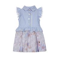 thumb-jurkje met blouse strikken - strand-1