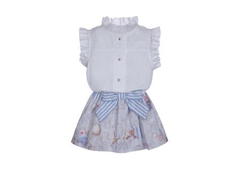 Lapin House jurkje met blouse - strand