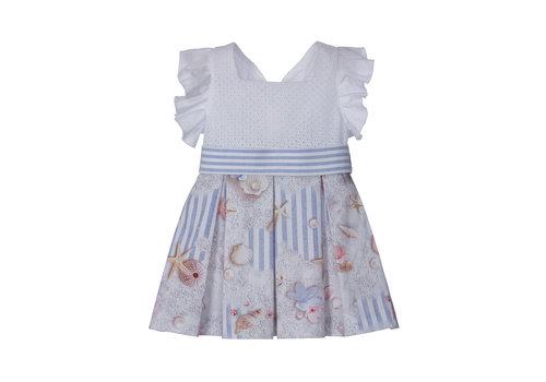 Lapin House jurk met strik - strand