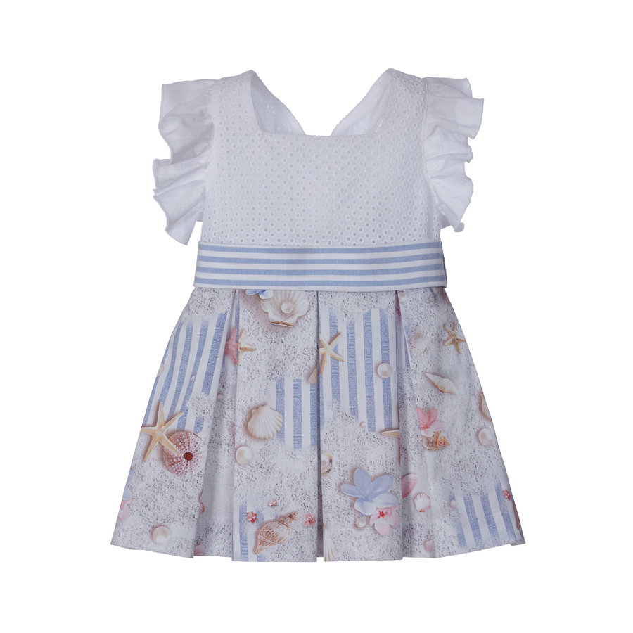 jurk met strik - strand-1