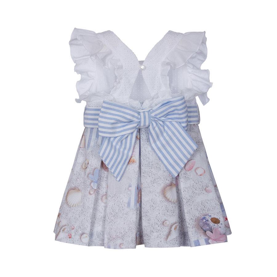 jurk met strik - strand-2