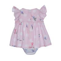 thumb-jurk met strik - roze-2