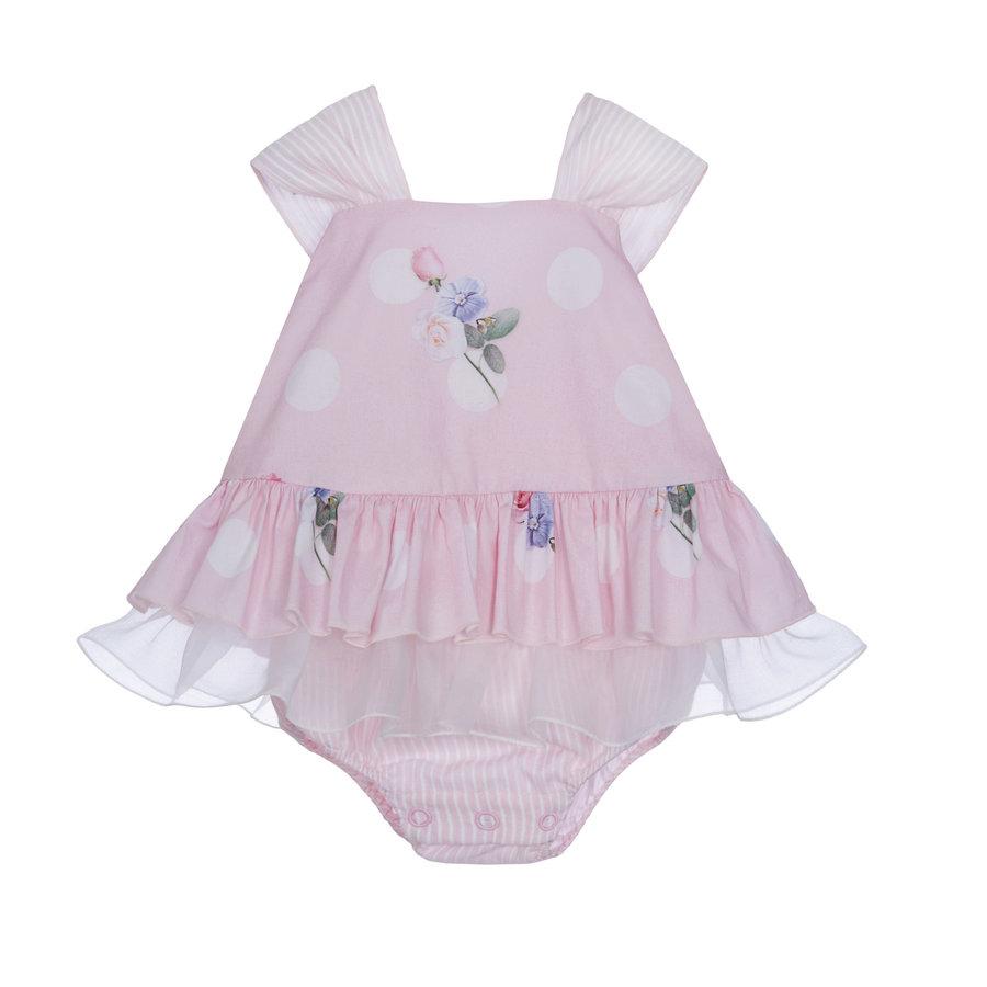babypakje met strik - roze-2