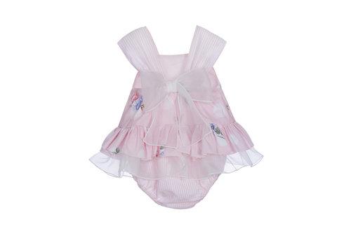Lapin House babypakje met strik - roze