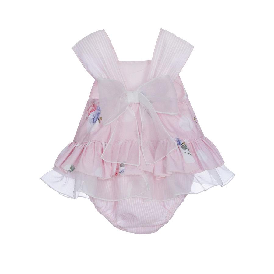babypakje met strik - roze-1