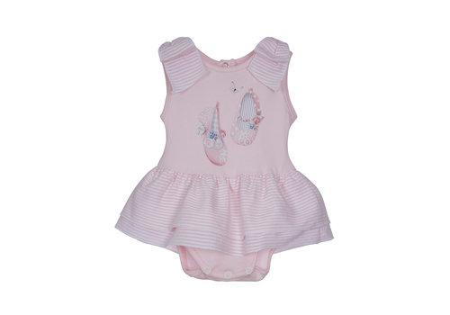 Lapin House babypakje volant - roze