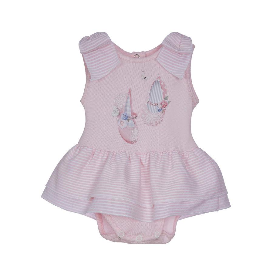 babypakje volant - roze-1