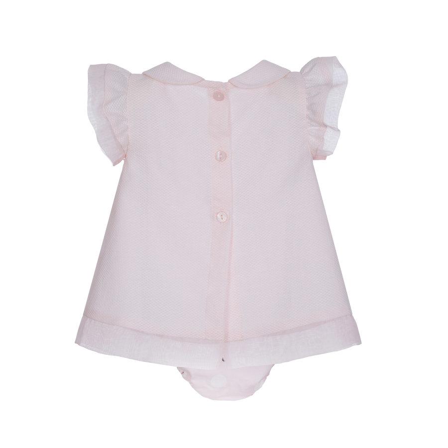 jurkje met strik - roze-2