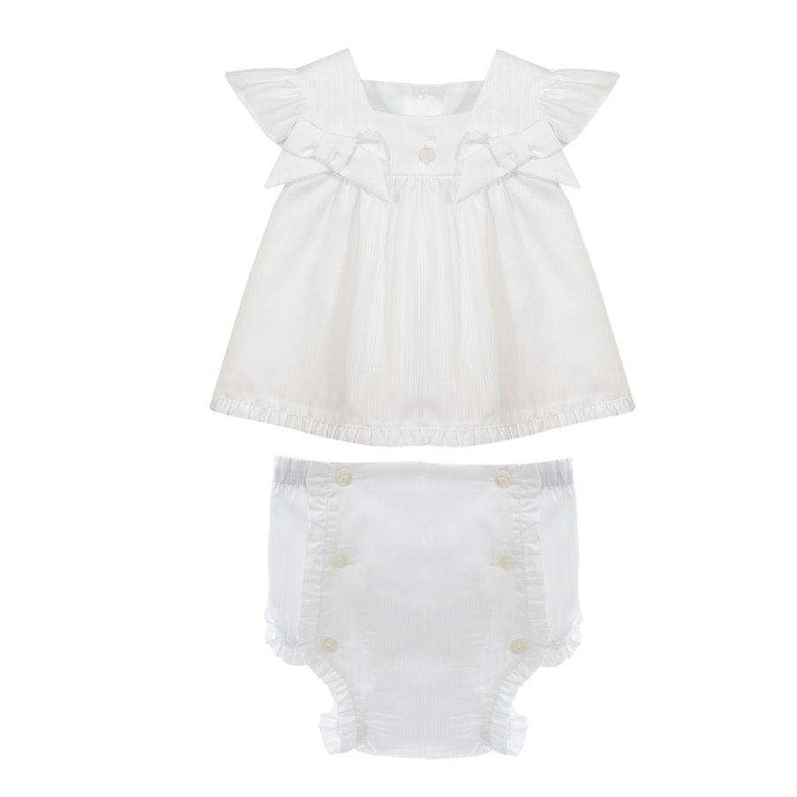 blouse met broekje - wit-1