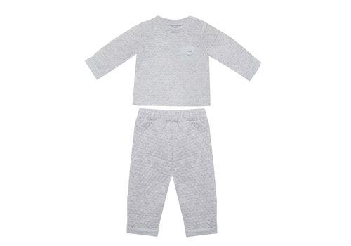 Patachou joggingpakje broek en shirt - grijs