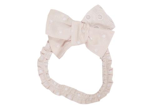 Patachou haarband met strik - roze