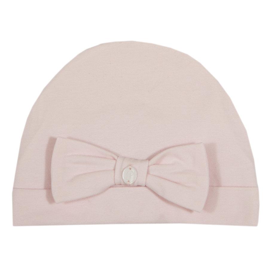 babymutsje met strik - roze-1