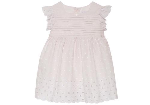 Patachou broderie jurk - roze