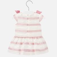 thumb-jurkje voile met strikken - roze-2
