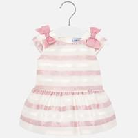 thumb-jurkje voile met strikken - roze-1